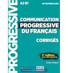 Книга Communication Progressive du Francais 2e Edition A2-B1 Niveau Intermediaire Corriges ISBN 9782090384482