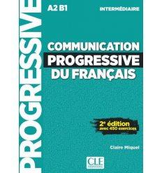 Книга Communication Progressive du Francais 2e Edition Niveau Interm A2-B1- Livre + CD ISBN 9782090384475