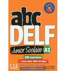 ABC DELF Junior scolaire 2?me ?dition A1 Livre + DVD + Livre-web ISBN 9782090382488