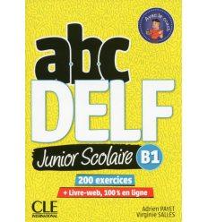 ABC DELF Junior scolaire 2?me ?dition B1 Livre + DVD + Livre-web ISBN 9782090382501