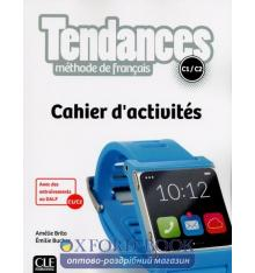 Книга Tendances c1/c2 Cahier dactivites 9782090385380