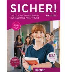 Підручник Sicher! aktuell, B2/1, Kursbuch+AB+MP3-CD zum Arbeitsbuch ISBN 9783196012071
