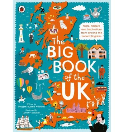 Книжка The Big Book of the UK Williams, I ISBN 9780241382608