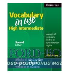 Словарь Vocabulary in Use High Intermediate with Answers 2nd Edition 9780521123860 купить Киев Украина