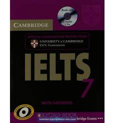 Учебник Cambridge Practice Tests IELTS 7 Self-study Pack (Students Book with answers and Audio CDs (2)) ISBN 9780521739191 ку...