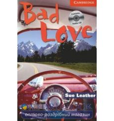 Книга Cambridge Readers Bad Love: Book with Audio CD Pack Leather, S ISBN 9780521686280 купить Киев Украина