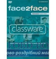Face2face Intermediate Classware DVD-ROM (single classroom) Redston, Ch 9780521727044 купить Киев Украина