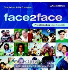 Диск Face2face Pre-Inter Class Audio CDs (3) Redston, Ch 9780521603393 купить Киев Украина