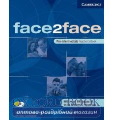 Face2face Pre-Inter teachers book Redston, Ch 9780521613965 купить Киев Украина