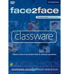 Face2face Pre-intermediate Classware DVD-ROM (single classroom) Redston, Ch 9780521740463 купить Киев Украина