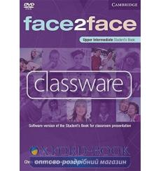 Face2face Upper-Intermediate Classware DVD-ROM (single classroom) Redston, Ch 9780521727051 купить Киев Украина
