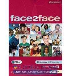 Тесты Face2face Elementary Test Generator CD-ROM Berry, V 9780521745857 купить Киев Украина