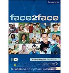 Тесты Face2face Pre-intermediate Test Generator CD-ROM Ackroyd, S 9780521745871 купить Киев Украина