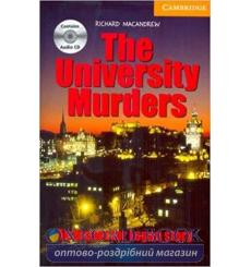 Книга Cambridge Readers University Murder: Book with Audio CDs (3) Pack MacAndrew, R ISBN 9780521686419 купить Киев Украина