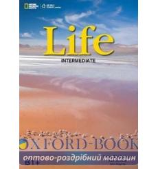 Учебник Life Intermediate Students Book with DVD Stephenson H 9781133315711 купить Киев Украина