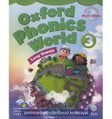 Учебник Oxford Phonics World 3 Students Book with MultiROM ISBN 9780194596190 купить Киев Украина