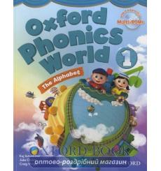 Учебник Oxford Phonics World 1 Students Book with MultiROM ISBN 9780194596176 купить Киев Украина