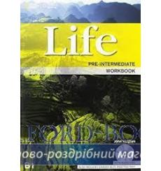Тетрадь Life Pre-Intermediate workbook with Audio CD Stephenson H 9781133316138 купить Киев Украина