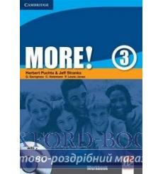 Тетрадь More 3 workbook with Audio CD Puchta H 9780521713085 купить Киев Украина