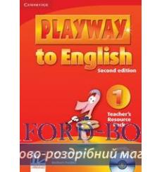 Playway to English 1 Teachers Resource Pack with Audio CD Puchta H 2nd Edition 9780521129879 купить Киев Украина