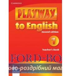 Книга для учителя Playway to English 1 teachers book Gerngross G 2nd Edition 9780521129909 купить Киев Украина
