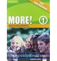 Учебник More 1 Students Book with interactive CD-ROM with Cyber Homework Puchta H 9780521138277 купить Киев Украина