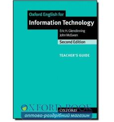 Книга для учителя Oxford English for Information Technology 2nd Ed teachers book 9780194574938 купить Киев Украина