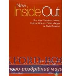 Книга для учителя Inside Out New Upper teachers book + Test CD Pack ISBN 9780230021013 купить Киев Украина