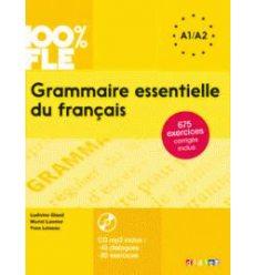 Грамматика Grammaire Essentielle du Fran?ais A1-A2 Livre + Mp3 CD + Corriges ISBN 9782278081028