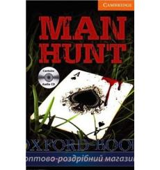 Книга Cambridge Readers Man Hunt: Book with Audio CDs (3) Pack MacAndrew, R ISBN 9781107624771 купить Киев Украина