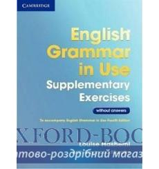 Грамматика English Grammar in Use 3rd Edition Supplementary Exercises WITHOUT answers Hashemi, L ISBN 9781107630437 купить Ки...