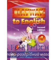 Playway to English 4 dvd PAL Gerngross G 2nd Edition 9780521131605 купить Киев Украина