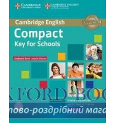 Учебник Compact Key for Schools Students Book without answers with CD-ROM ISBN 9781107618633 купить Киев Украина