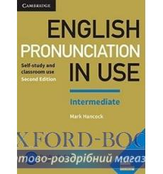 Книга English Pronunciation in Use Intermediate with Answers and Downloadable Audio Hancock M 2nd Edition 9781108403696 купит...