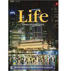 Учебник Life Upper-Intermediate Students Book with DVD Stephenson H 9781133315728 купить Киев Украина