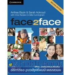 Тесты Face2face Pre-intermediate Testmaker Audio CD Bazin A 2nd Edition 9781107609952 купить Киев Украина