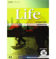 Тетрадь Life Elementary workbook with Audio CD Dummett P 9781133316039 купить Киев Украина
