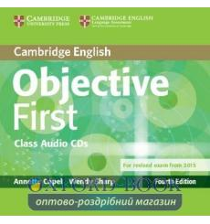 Диск Objective First Fourth edition Class Audio CDs (2) Capel, A ISBN 9781107628540 купить Киев Украина