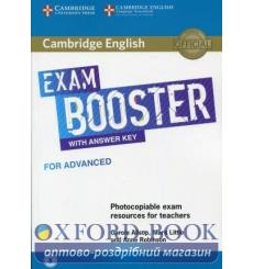 Книга Exam Booster for Advanced with Answer Key with Audio for Tearchers Allsop, C ISBN 9781108349086 купить Киев Украина