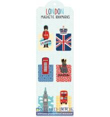 Книжка Magnetic Bookmarks: London ISBN 9780735341814