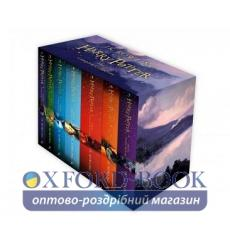 Книга Harry Potter Boxed Set: The Complete Collection [Children's Paperback] Rowling, J 9781408856772 купить Киев Украина