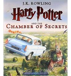Книга Harry Potter 2 Chamber of Secrets Illustrated Edition [Hardcover] Rowling, J ISBN 9781408845653 купить Киев Украина