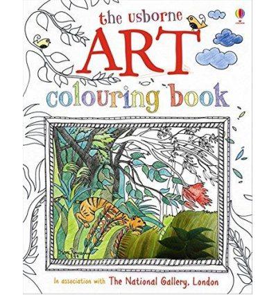 Книга Art with Stickers Dickins, R ISBN 9781409523055