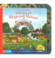 Книга Treasury of Rhyming Stories. Book and CD Scheffler, A 9781447277255 купить Киев Украина