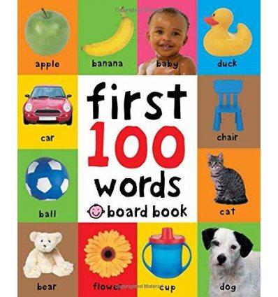 Книга First 100 Words Board Book ISBN 9781849154208