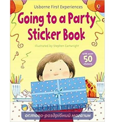 Книга Going to a Party Sticker Book ISBN 9781409502531