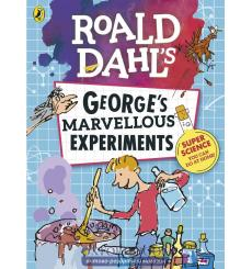Книга Georges Marvellous Experiments Dahl, R 9780141375946 купить Киев Украина