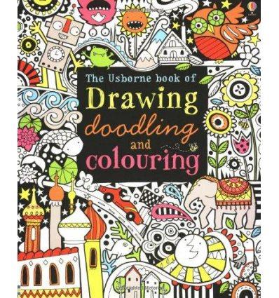 Книга Drawing, Doodling and Colouring Book Watt, F ISBN 9781409507857