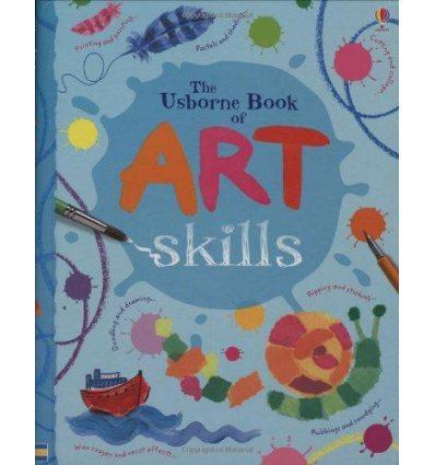 Книга Art Skills Spiral-bound Watt, F ISBN 9780746098257
