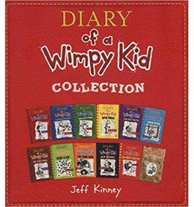 Книга Diary of a Wimpy Kid 12 Book Slipcase Kinney, J ISBN 9780241342800